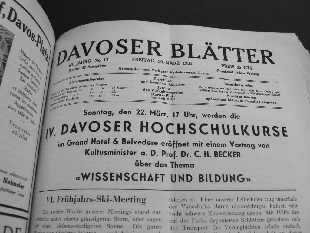 Davoser Blätter