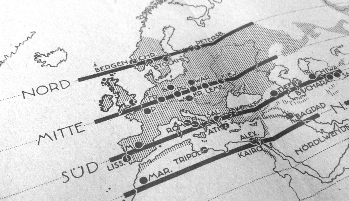 Urbanisation de l'Europe : strates parallèles