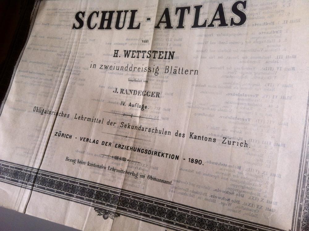 Page de titre de l'Atlas