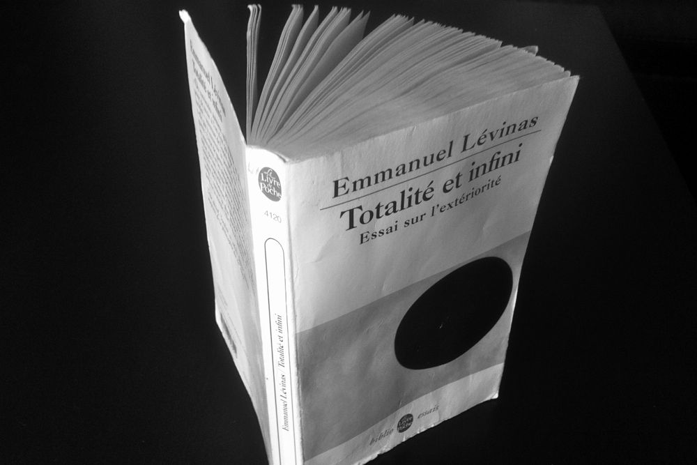 """""""Totalité et infini"""", d'Emmanuel Lévinas."""