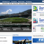Le site officiel de la FIFA