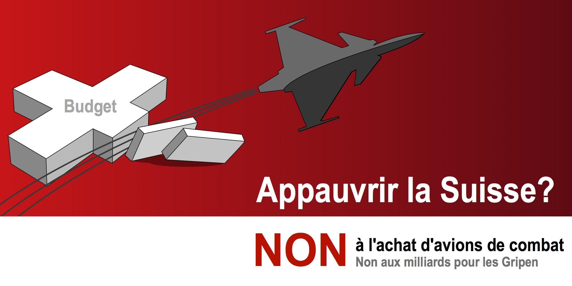 Appauvrir la Suisse ? (version campagne anti-initiative GSSA sur le service militaire obligatoire)