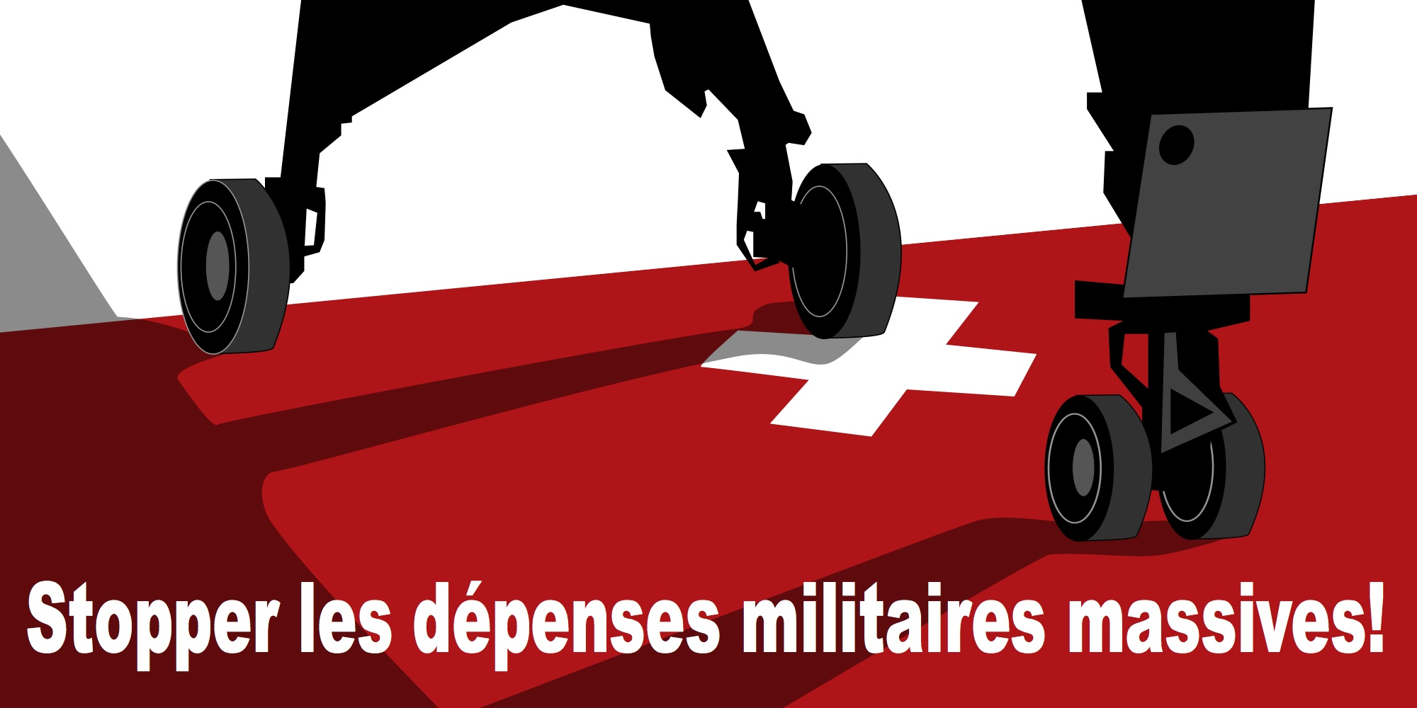 Stopper les dépenses militaires massives ! [Version campagne anti-immigration]