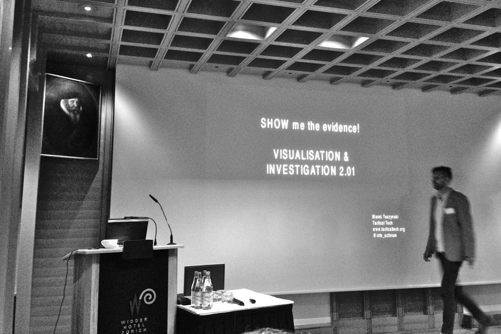 Marek Tuszynski, conférence #DDJCH InfoCube 2013