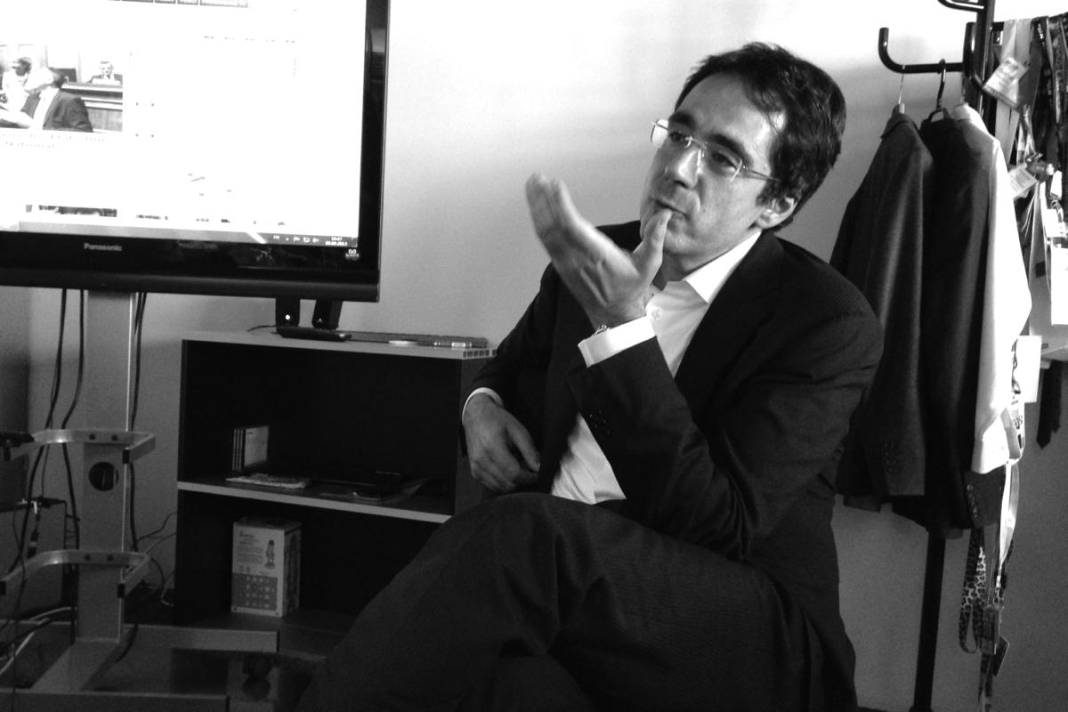 Discussion avec Darius Rochebin