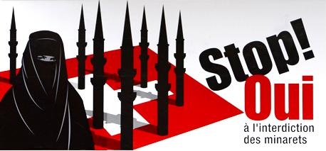 Campagne UDC contre les minarets en Suisse