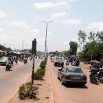 Ouagadougou : artère principale