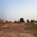 Tibin : maison écroulée