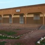Songpelsé : délimitation du préau d'école