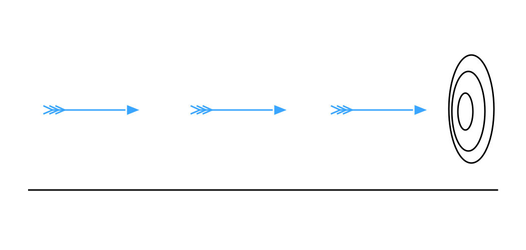 Paradoxe de Zénon : la flèche