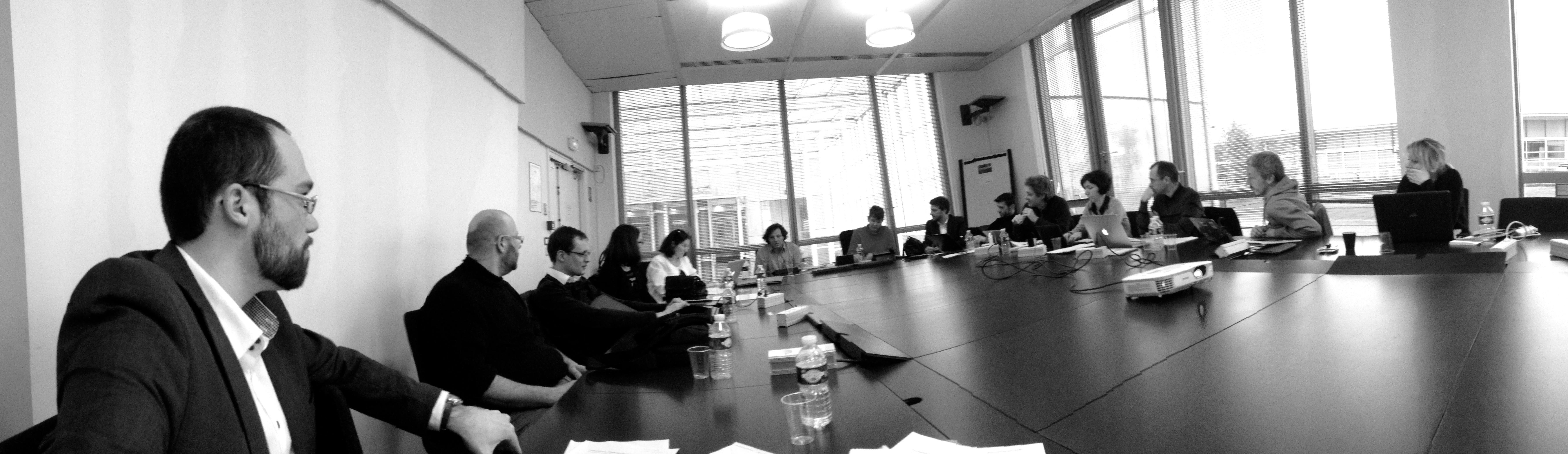 17 mars 2014 : le comité provisoire se réunit à Paris pour concrétiser les statuts.