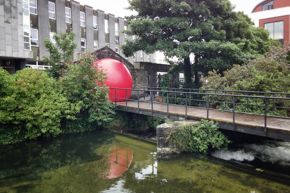 Red Ball Project - Galway International Arts Festival 2014