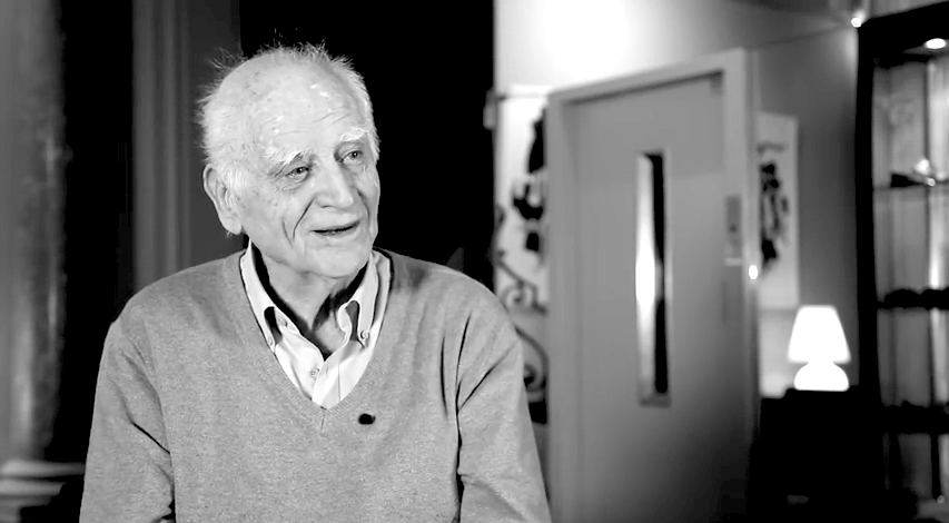 Michel Serres, dans l'interview des Librairies Sauramps (YouTube)