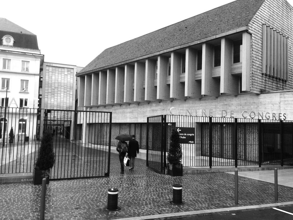 Le cadre de la conférence: le Forum des archivistes, à Troyes.